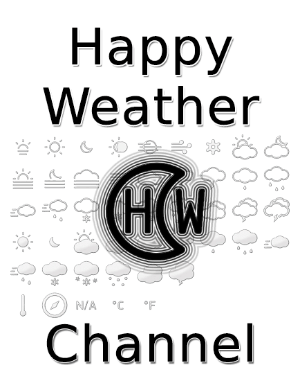 Happy Weather: The modern, minimalist and animated weather widget with many pretty features.