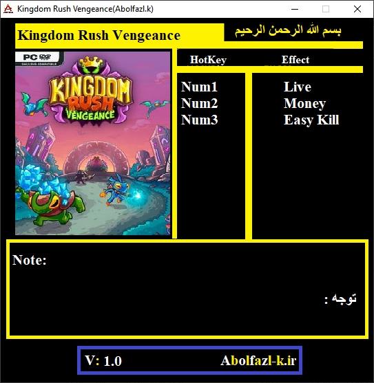 Kingdom rush origins pc trainer